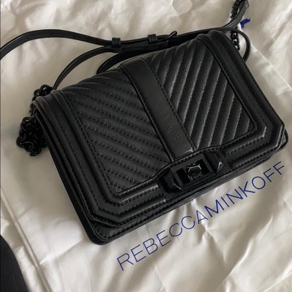 Rebecca Minkoff Chevron Quilted Small crossbody